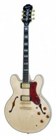 EPIPHONE SHERATON II NATURAL GOLD HARDWARE