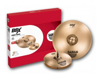 SABIAN B8X FIRST PACK Set
